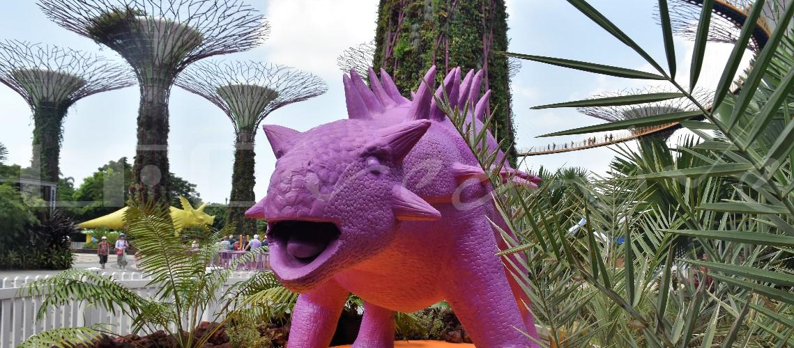 2017 | Singapore | Garden By The Bay | DyeNosaur Gardens